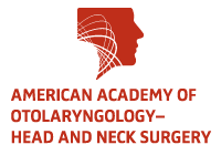 logo for the American Academy of Otolaryngology — Head and Neck Surgery.